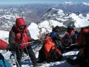 High on Aconcagua 31 December 2008