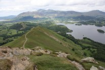 The view towards Keswick from Catbells