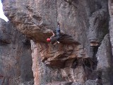 rr on 'The flashing blade' 25 @ Mount Arapiles<br>© rr