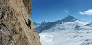 High above the Vallee Blanche<br>© Mr Lopez
