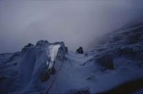 The Binner snowy ! Slabs on the ZinalRothorn