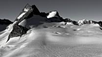 VIew off Glacier d'Arolla