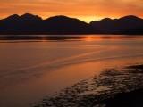 Sunset and Garbh Bheinn at sunset<br>© JamesRoddie