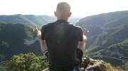 Inner Peace - Red Via Ferrata route @ Le Boffi, Massif Central<br>© 98%monkey