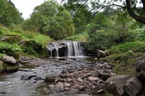 Near Blaen Caerfanell, (Torpantau Waterfall). Sept 2010