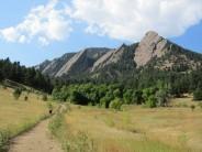 The flatirons-Colorado