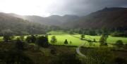 Sunlit pastures, Patterdale<br>© Lankyman