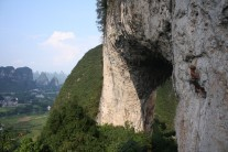 incredible views from moon hill, yangshuo, china.