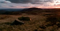 Wild camp on Cauldale Moor