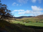 Glen Lednock Early Snow and Sunshine