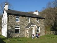 The Mynydd Climbing Club's hut (Blaen y Nant) in Snowdonia's Crafnant Valley
