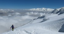 Circa 6,000m on Muztagh Ata