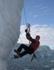 Deep Water Ice Top Roping!  Adelaide Island Antarctic Peninsula