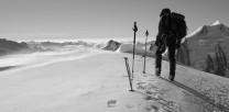 Summit of the Abeni Flue, Bernese Oberland.