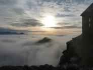 Misty morning at Casa Muira Terradets Spain