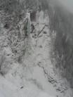 Haugsfossen WI6, Rjukan- why o why did we bail...