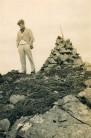 John Crofton 1931, summit of Buchaille Etive