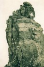 Skye 1932, Inaccessible Pinnacle, Sgurr Dearg, Leslie above, Crofton below