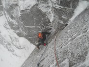 Jim on pitch 1 of 'war and peace'
