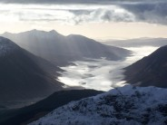 Loch Etive from the top of Sron na Lairig