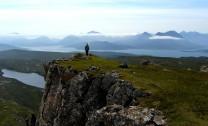 The Skye Cuillin from the summit of Dun Caan on Raasay
