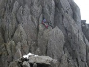 Climbing on tryfan