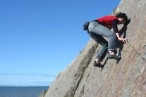 Naomi, loving the Garheugh Port slab action
