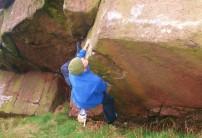 Pete Bridgwood on Crouching Tiger Hidden Dragon (7b version)
