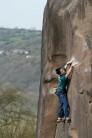 Michele Caminati, Gaia, Black Rocks, Derbyshire