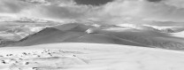 On a ski tour above Glenshee