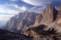 Cima and Torre del Lago, Fanes, Dolomites