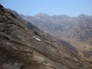 Friction rest on the Dubhs ridge Skye