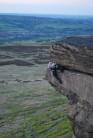 Me starting the Sweatyman traverse. Photo taken by Hardon