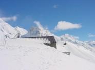 Another light dusting of snow - Caroline Hut, Ball Pass, NZ.