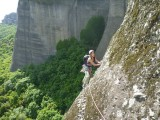 Traverse at end of 2nd pitch.<br>© DrGav