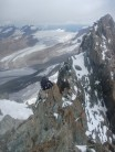 Jere Scott, heading towards 1st Tower on Full Traverse of The Briethorn