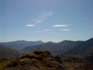 A Ghlas Bheinn wind stretched clouds