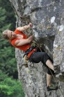 Claire Durant on 'Valley of the Blind' F7c, Lion Rock, Cheddar
