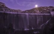 Dam in the moonlight, Margalef, Catalunya<br>© Lard