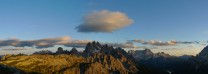 View from the Tre Cime car park
