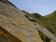 Lasma on the second pitch of 'Midnight Cowboys', Baggy Point