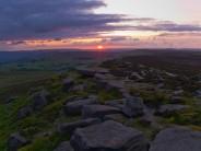Stanage Sunset