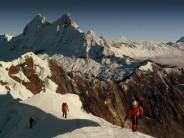 Summit Ridge. Yanapacha (5400m). Cordillera Blanca, Peru.