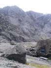 Bouldering in Coire Lagan.