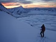 Alpine Dreamtime (Weissmeis from the Nadelhorn Ascent)