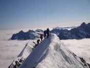 Eiger Summit ridge
