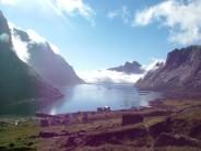 The view down Kjerkfjord