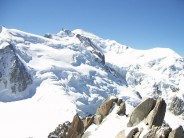 Mont Blanc, from the Auguille De Midi
