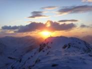Buachaille Etive Mor sunset.