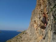 Climbing in paradise